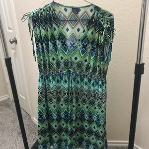 Faded glory dress or coverup size Large